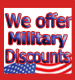 Bornstein Sons offers a discount to our Military