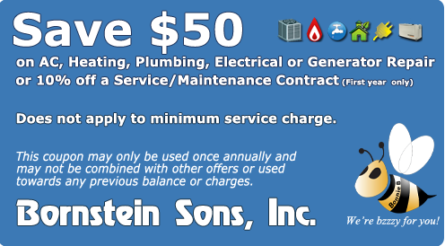 Save on your repair with a coupon from Bornstein Sons