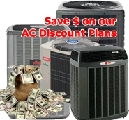 Discount AC Service Plans offered by Bornstein Sons