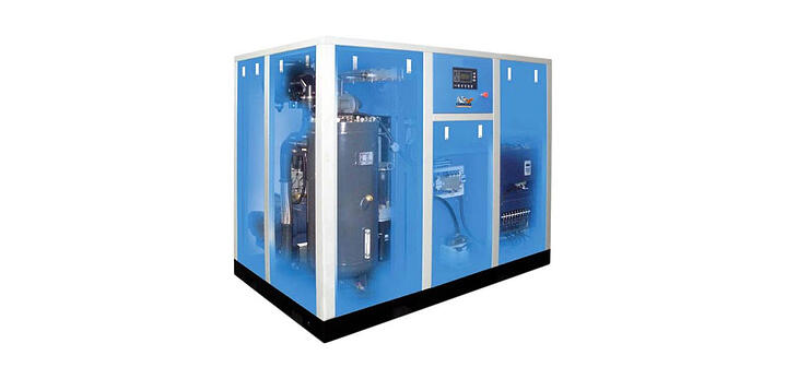 The Advantage of a Variable Speed Rotary Screw Compressor