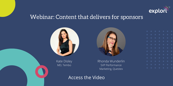Webinar: Content that delivers for sponsors