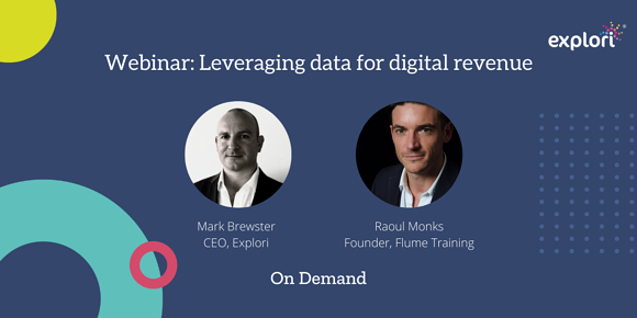 Webinar: Leveraging data for digital revenue