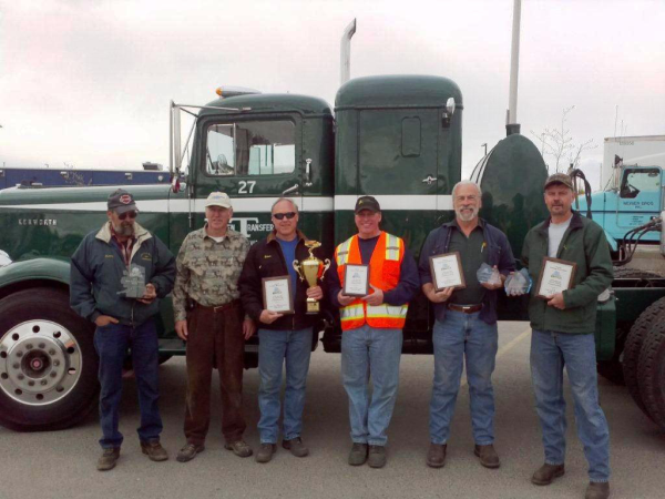 Lynden drivers at the Alaska Trucking Association's 13th Annual Truck Driving Championship