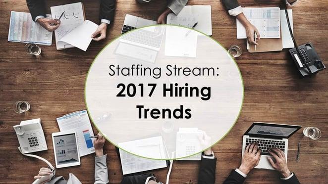 Staffing stream: December 2016