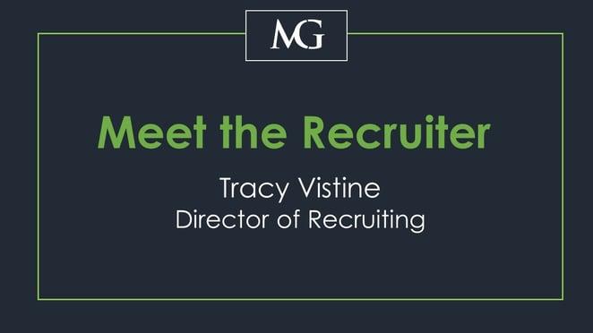 Meet the Recruiter: Tracy Vistine