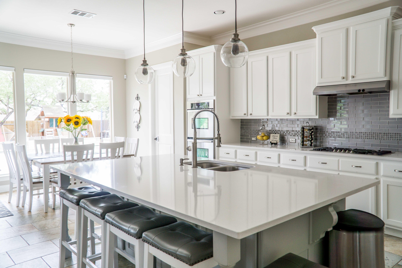 White ceramic kitchen - modular homes wv