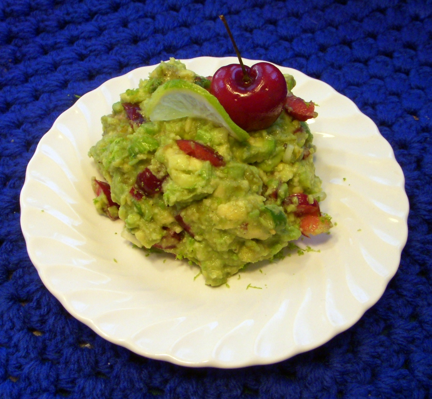 Cherry Lime Guacamole - Honorable Mention. Courtesy of Lori McLain, Texas