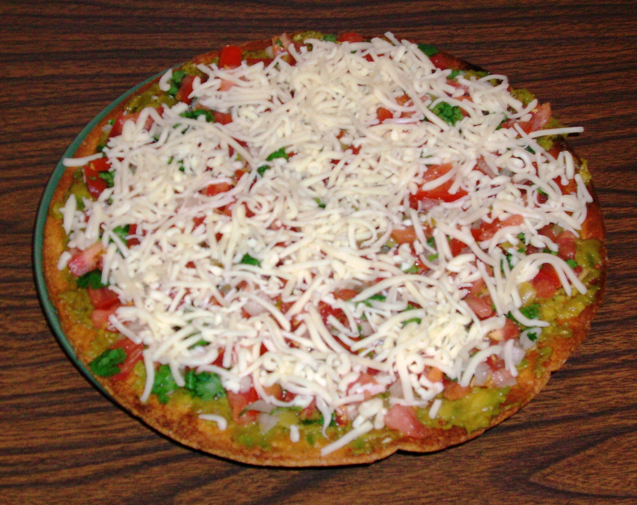 Cool Summer Pizza - Honorable mention. Courtesy of Mary Leverette, South Carolina