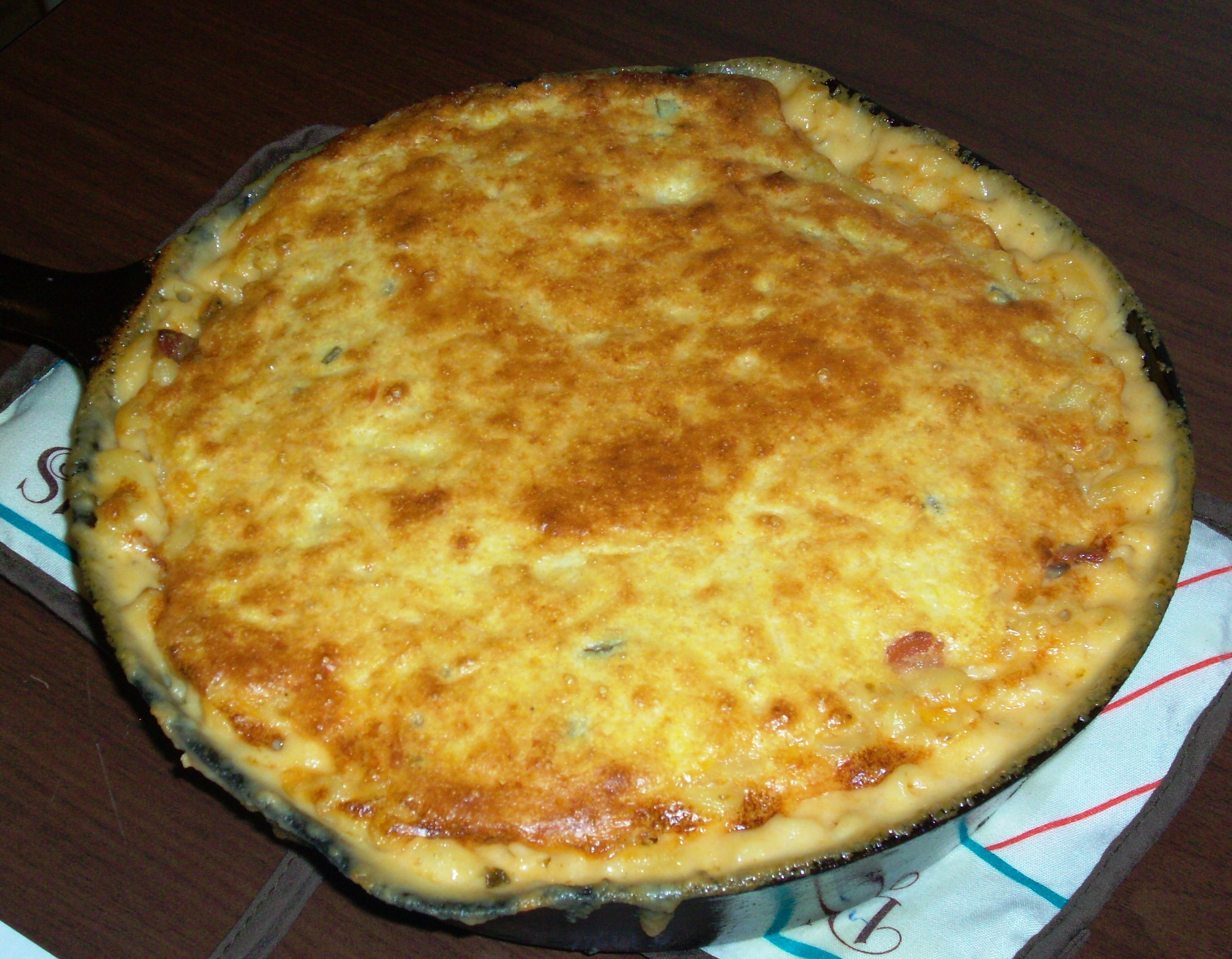 Southwest Cornbread Topped Mac and Cheese - Honorable mention.Courtesy ...