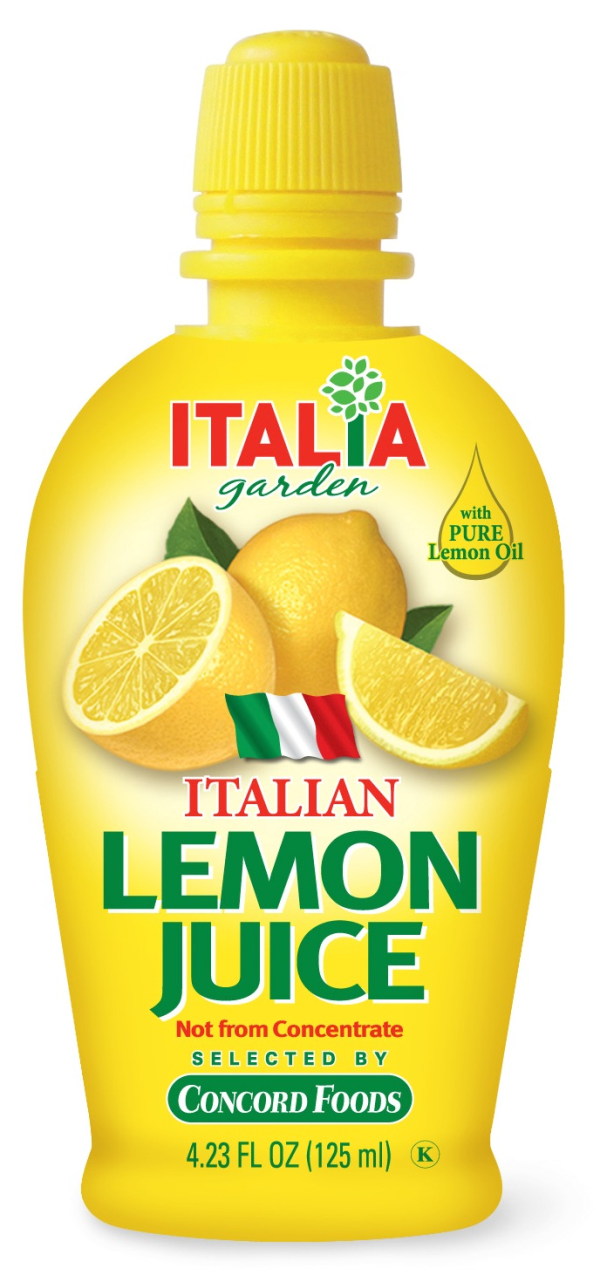 Italia Lemon Juice from Concord Foods