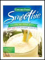 Concord Foods Tropical Pineapple Smoothie Mix