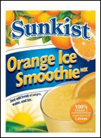 Sunkist Orange Ice Smoothie Mix from Concord Foods