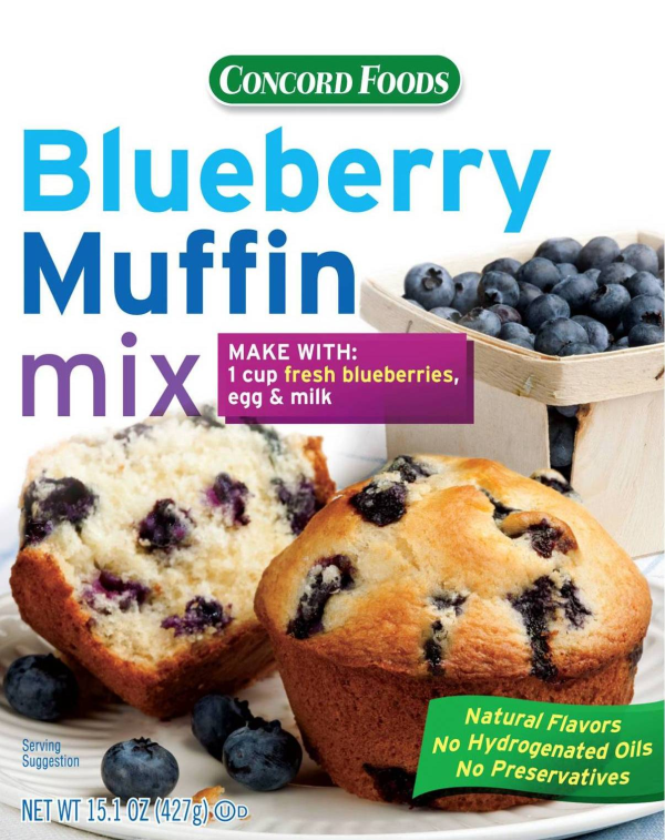 Blueberry Muffin Mix Coupon Promotion
