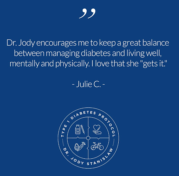 What is it like to live with Type 1 Diabetes? Hear Julie's story...