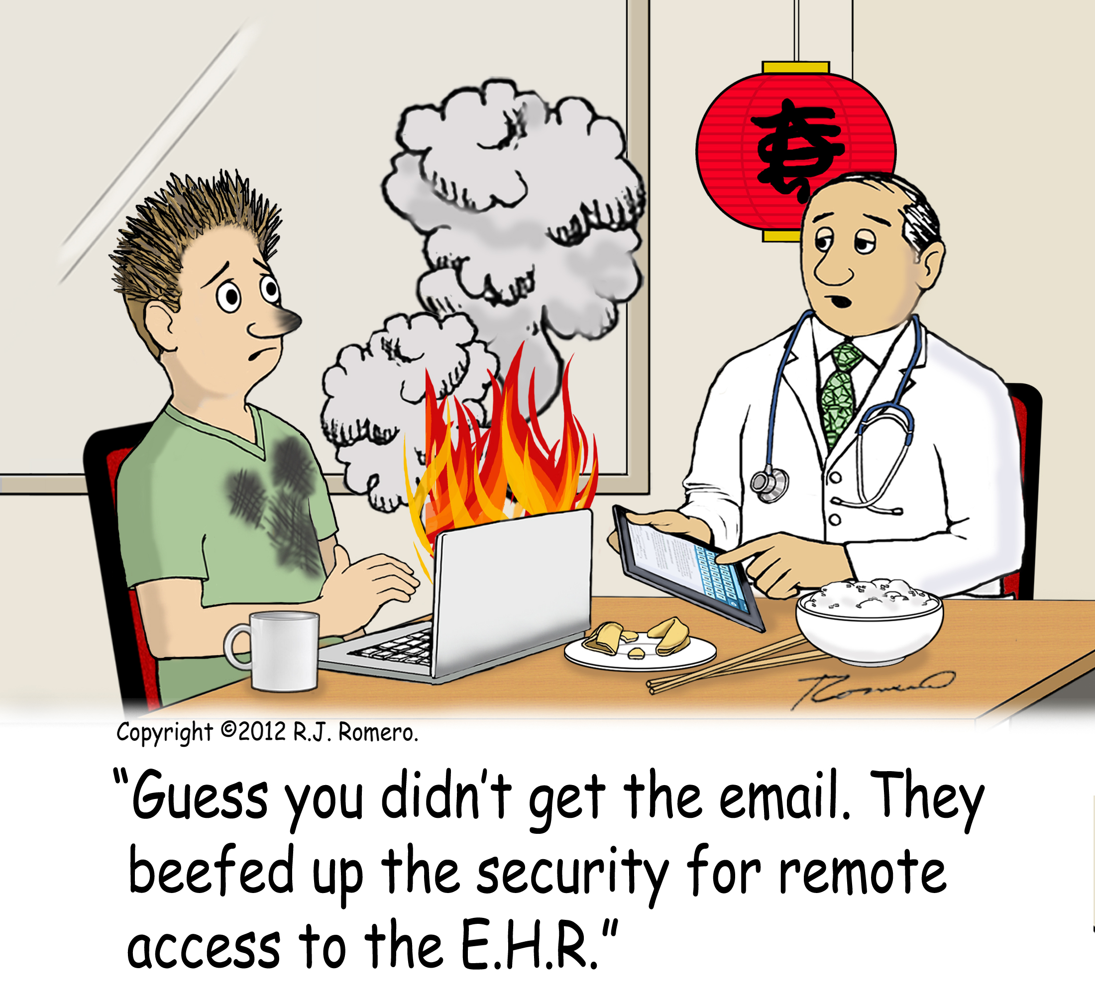 secure access to EHR
