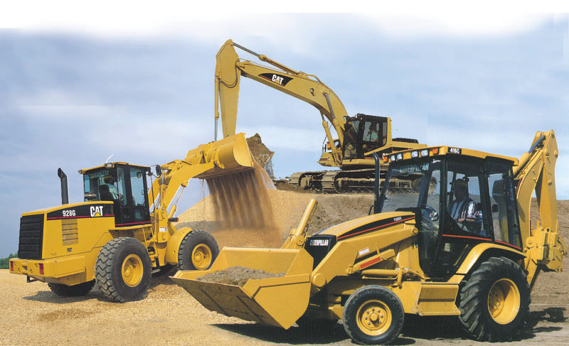 exchanges of heavy equipment