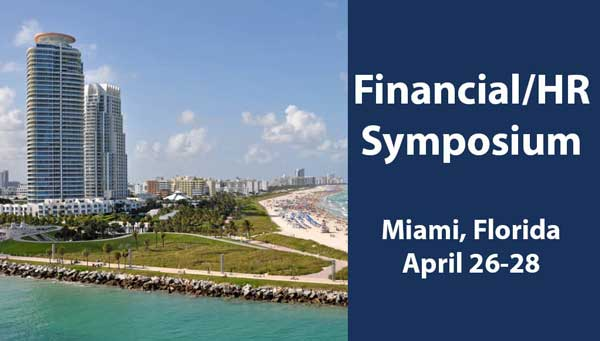 AED Financial/HR Symposium 2017, April 26-28