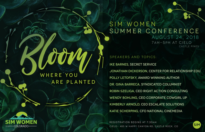 4th Annual SIM Women Summer Conference