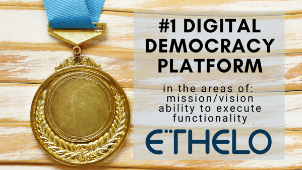 Best Digital Democracy Platform Ethelo