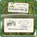 Dave Miles & River Root Farm Micro Greens