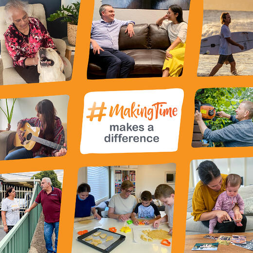 #MakingTime makes a difference