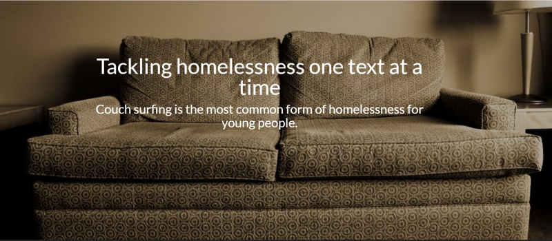 Tackling homelessness one text at a time