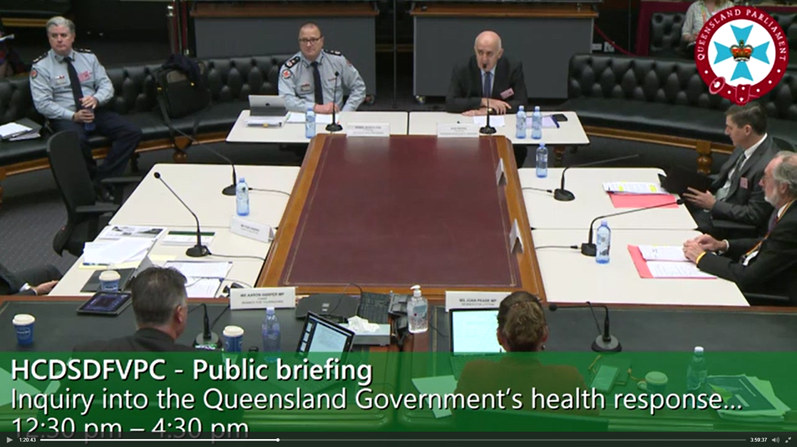 Parl. Cttee video still