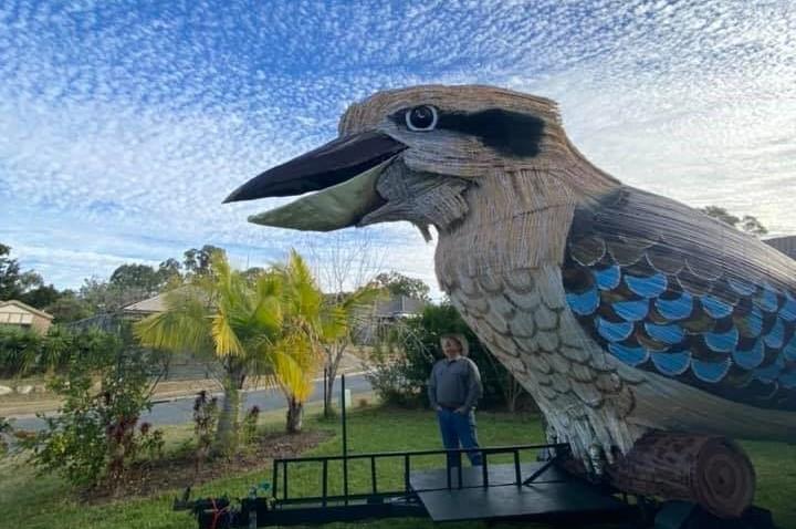 Giant kookaburra