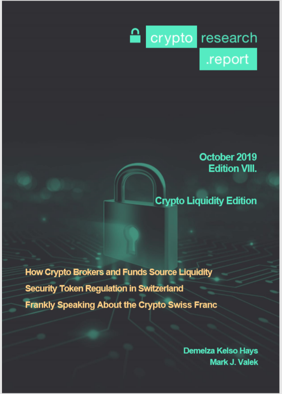 New Crypto Research Report Edition VIII is out