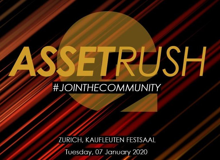 #AssetRush2020: Get your ticket now!