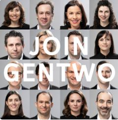 Join the GENTWO family. We are hiring!
