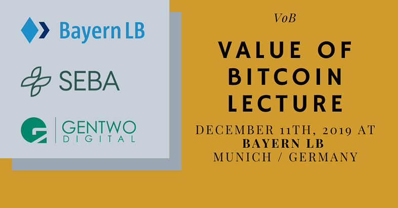 Value of Bitcoin Lecture: How do Bitcoin and financial institutions fit together?