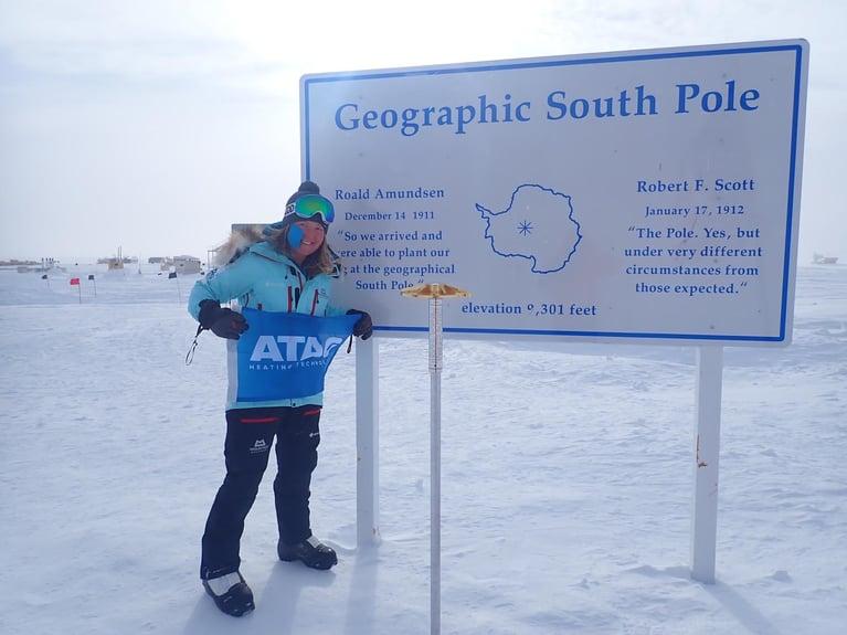 How ATAG helped adventurer Mollie Hughes reach the South Pole