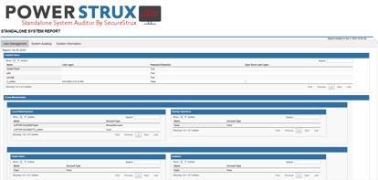 PowerStrux Standalone System Auditor
