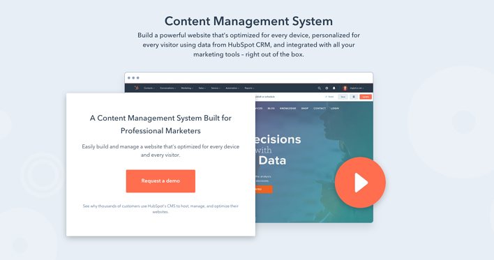 The Benefits Of HubSpot's New Standalone CMS