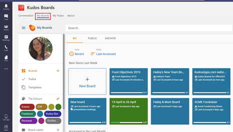 Kudos Boards is now available in O365