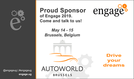 Meet us at Engage Brussels