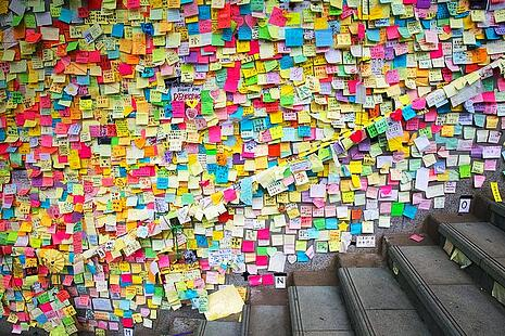 Post-it notes are  out Kudos Boards is in