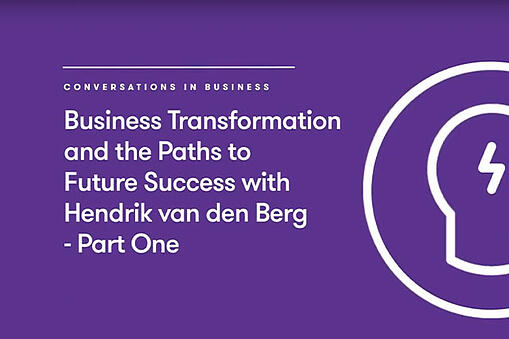 Video : Business Transformation for Organizations with Chris EP.1
