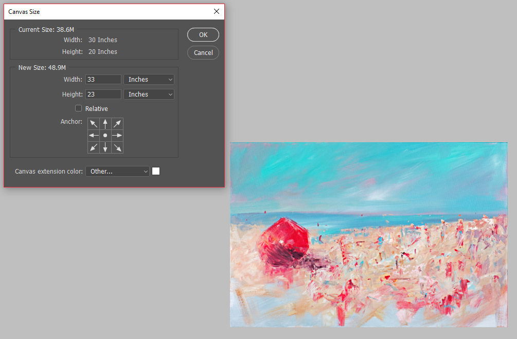 How to Set Up Your Digital File for Canvas Wraps Using Adobe Photoshop