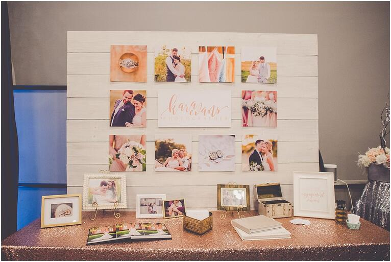 Bridal Expo Booth Inspiration