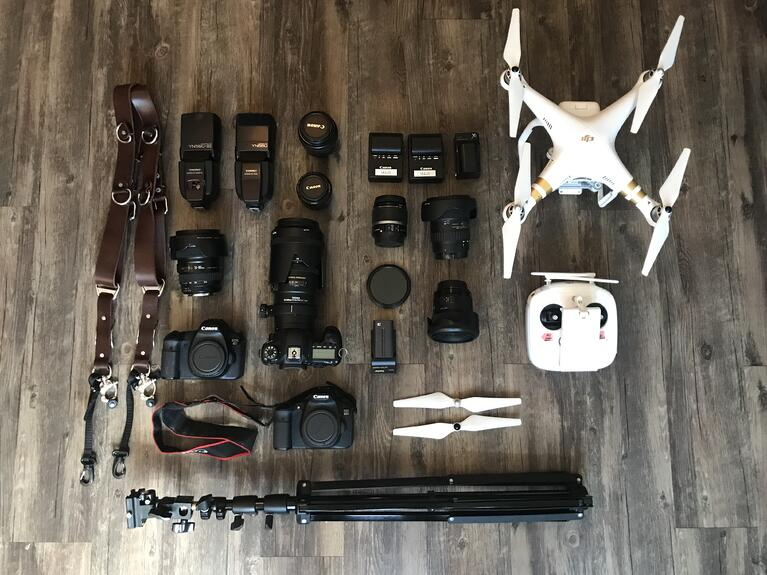 What's in My Bag - Anesha Collins, Wedding Photography