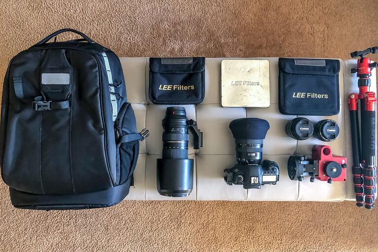 What's in My Bag - Taylor Varnau, Landscape Photography