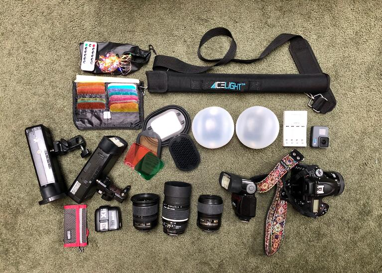 What's in My Bag - Veronica Yankowski, Wedding, Portrait, & Boudoir Photography