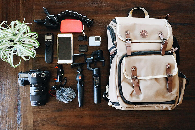 What's in My Bag - Kathleen Elizabeth Photography