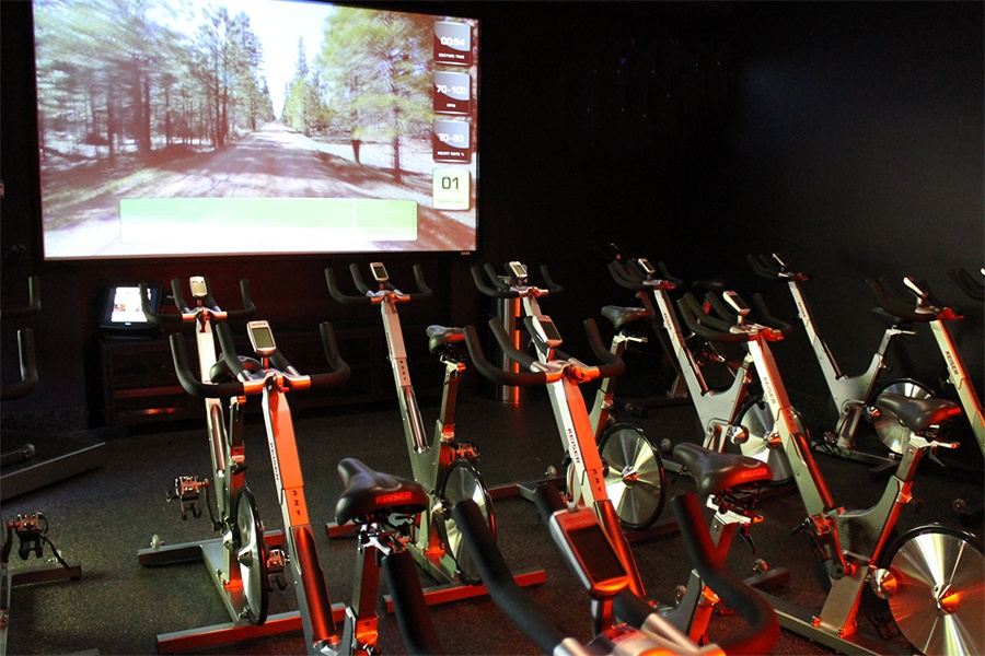 Innovative MyRide Interactive Cycling Studio