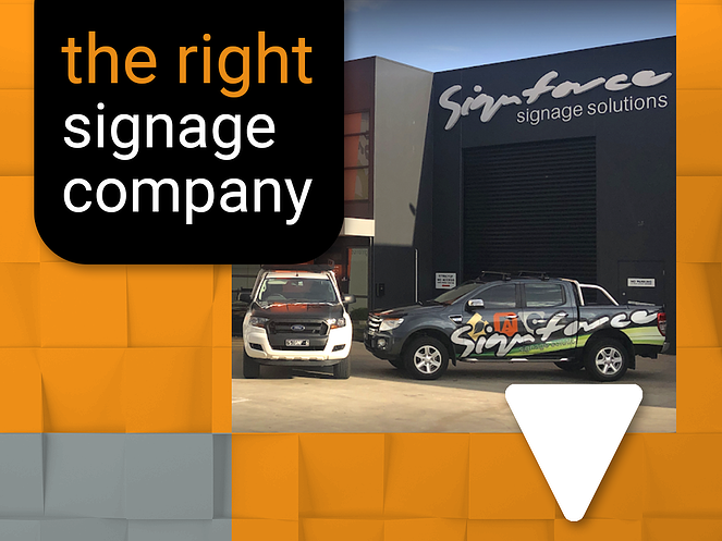 How to find the right signage company for your business