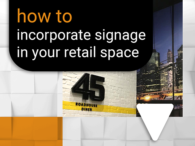 How to incorporate signage when shopfitting your retail space