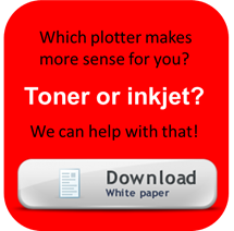 plotter technology comparison toner vs inkjet updated. Black Bedroom Furniture Sets. Home Design Ideas