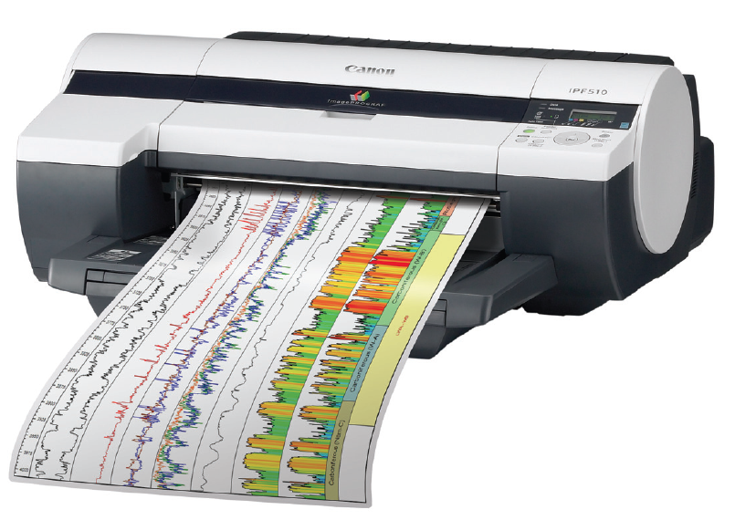 Azon PRO-LOG Canon well log printer